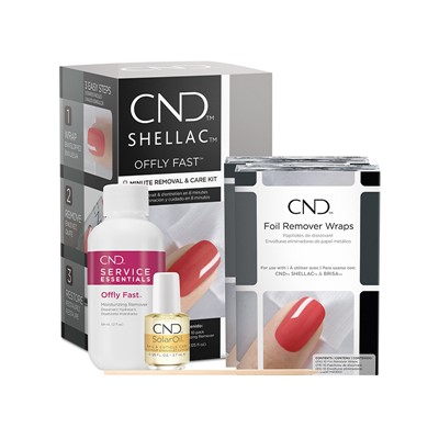 Offly Fast Remover Kit, Gel/Shellac CND