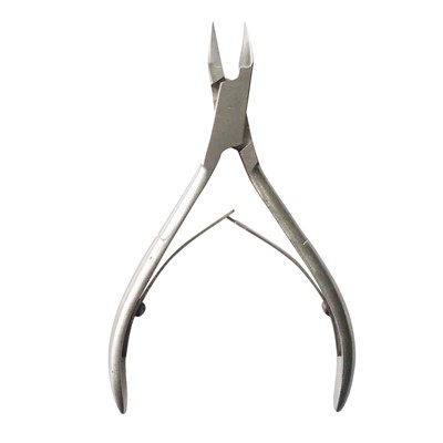 Cuticle Nipper, 14 mm. Stainless Steel**