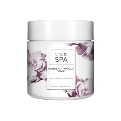 CND SPA Gardenia Woods SOAK