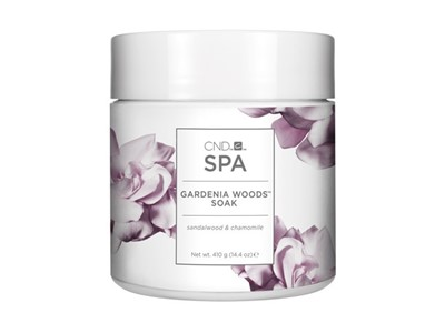 CND SPA Gardenia Woods SOAK*