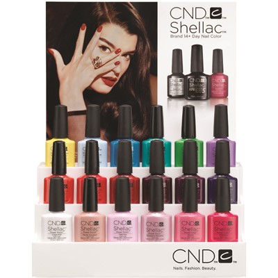 Display, Shellac & Vinylux Stadium