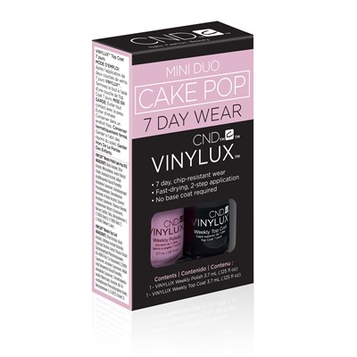 Vinylux Mini Duo Kit, Cake Pop**