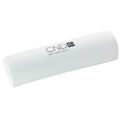 Arm Rest, White, large w. CND logo