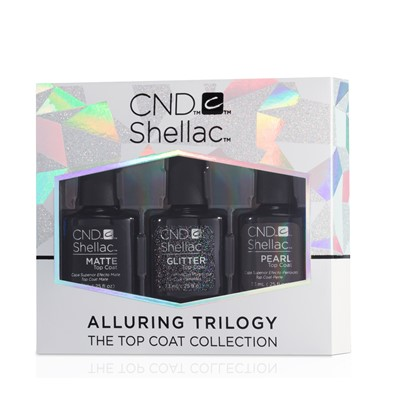 Top Coats ALLURING TRILOGY Collection