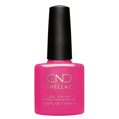 Hot Pop Pink, Shellac Garden Muse