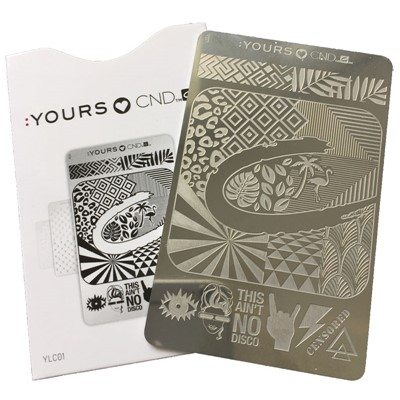 Stamping Plate, CND, Yours Love**