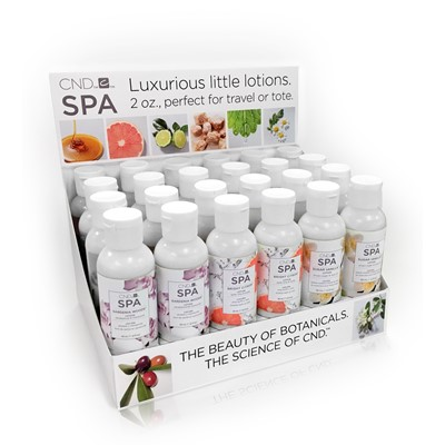 CND SPA Lotion POP Display