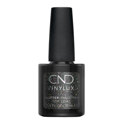 Long Wear Top Coat Vinylux Glitter*