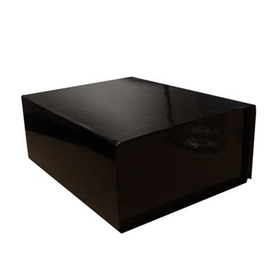 Giftbox. Black, High Shine, Magnet Clos*