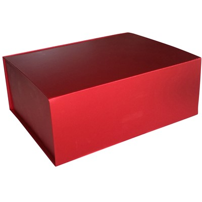 Giftbox, Red, High Shine, Magnet Close
