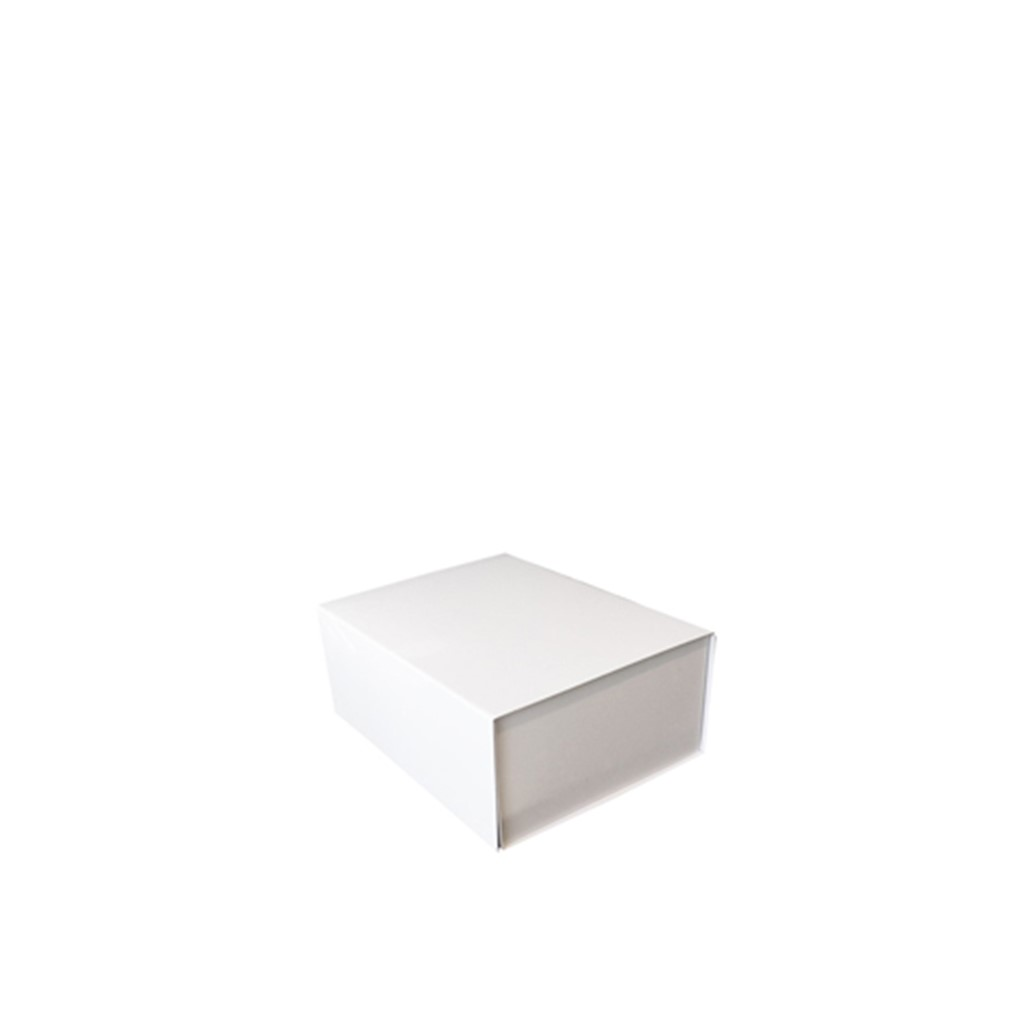 Giftbox, White Matt, Hard, Magnet Close