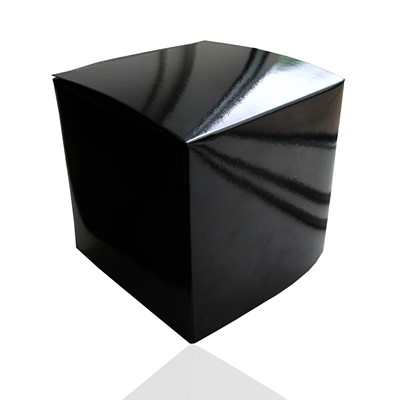 Giftbox, Black, High Shine, Soft box