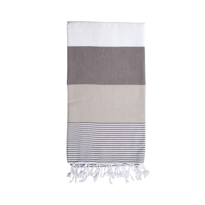 Maxi Cotton Towel, Grey Sun Soul LE*