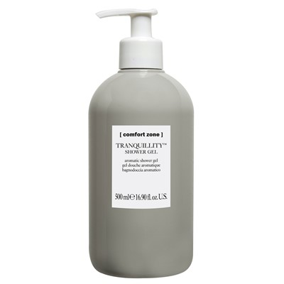 Hotel Amenity Shower Gel Bottle, Tranqui