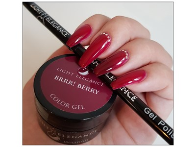 Brrr! Berry Color Gel
