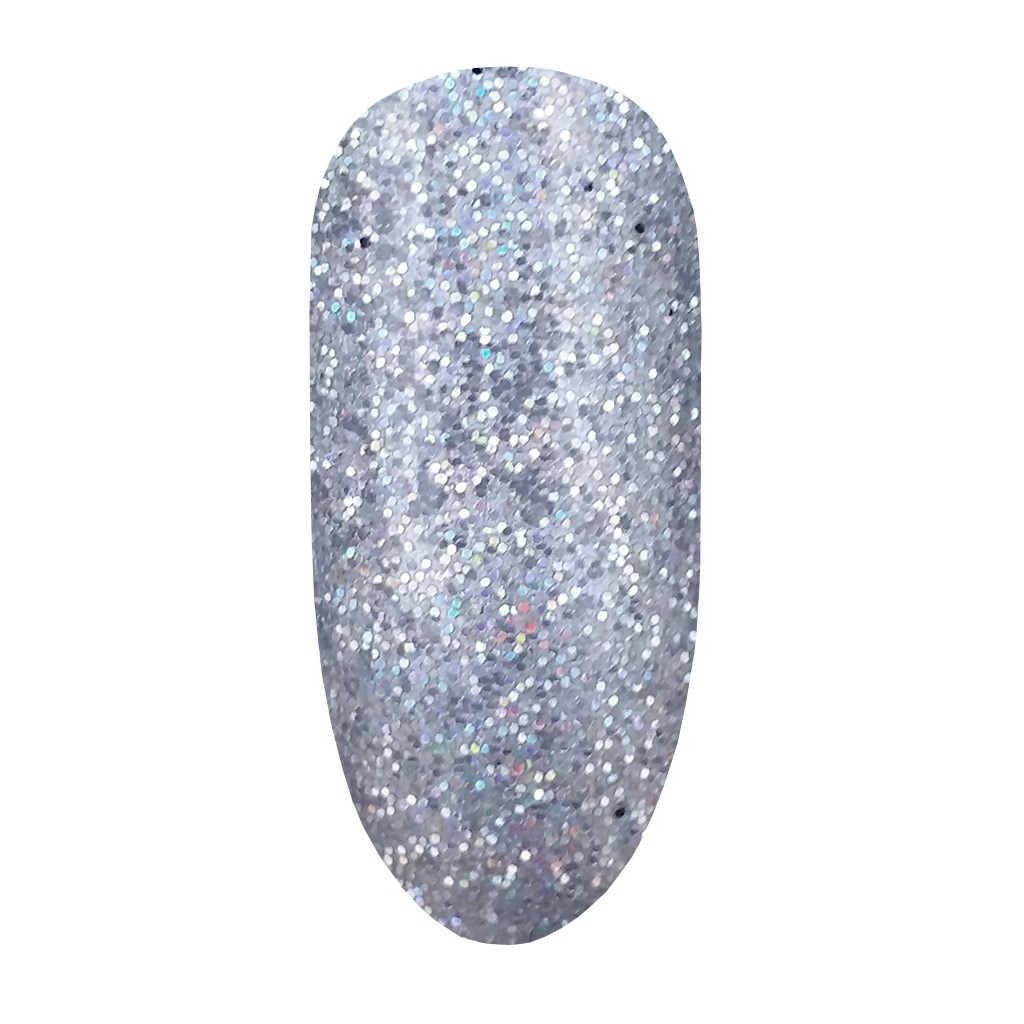 Glitter Powder, Silver, Hologram
