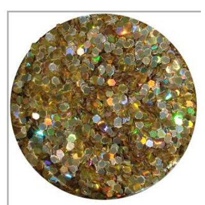 Glitter Jewel, Gold Hologram*