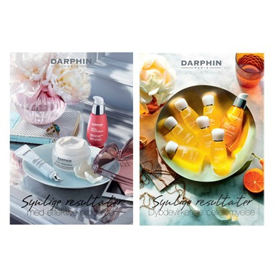 Poster, DARPHIN, double products