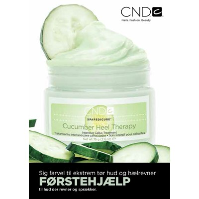 Flyer, CND Cucumber Heel Therapy