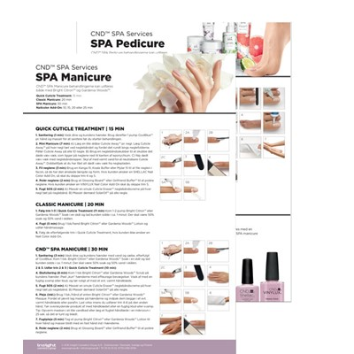 Step By Step, CND SPA Mani + Pedi