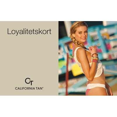Loyalitetskort, California Tan*
