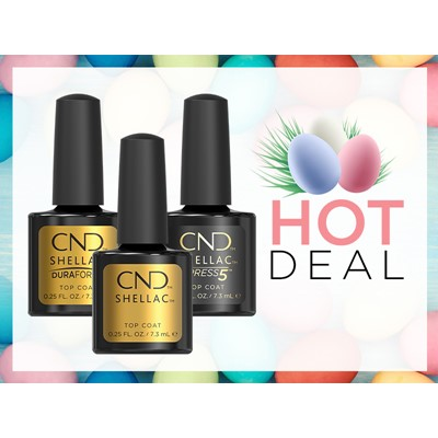 Shellac Top Coat Trio Kit
