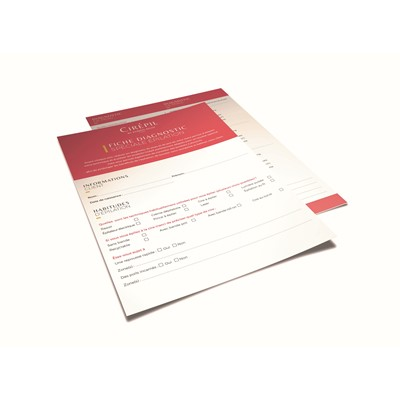 Wax Treatment Diagnosis Sheet, English