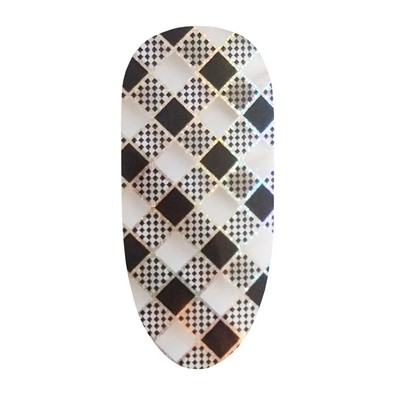 Foil, Black Checkers