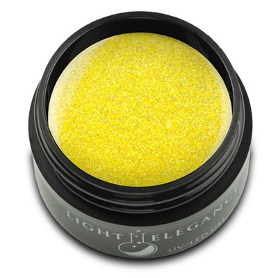 Lemon Burst Glitter Gel