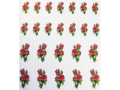 Decal Flower, Roses*