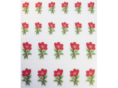 Decal Flower, Christmas Rose*