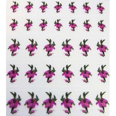 Decal Flower, Pink Lily*