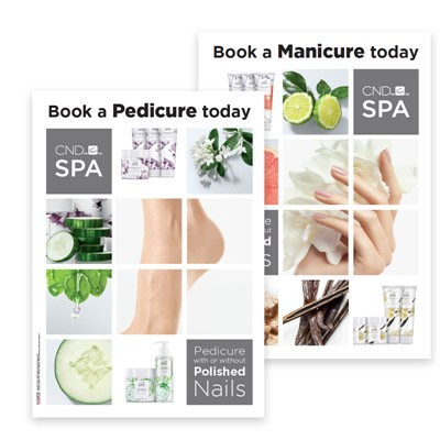 Poster, CND SPA Manicure & Pedicure