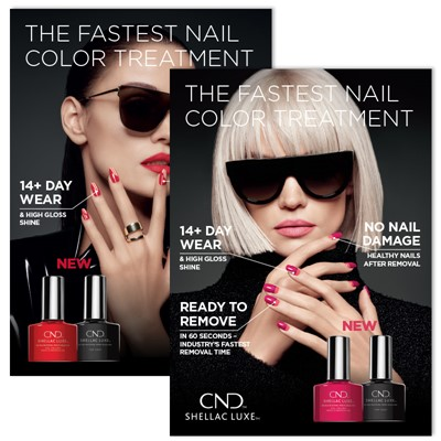 Poster, CND Shellac Luxe