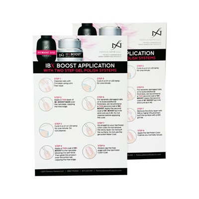 IBX Step-By-Step Boost Gel Appplication