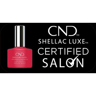 Sticker, SHL LUXE Certified salon