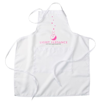 Apron, White, Light Elegance