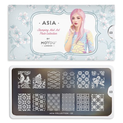 Stamping Plate Asia 03, MOYOU