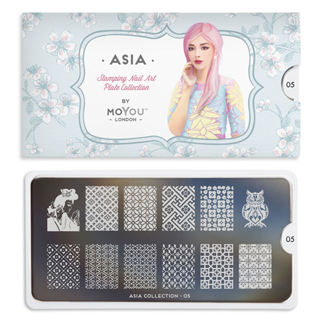 Stamping Plate Asia 05, MOYOU
