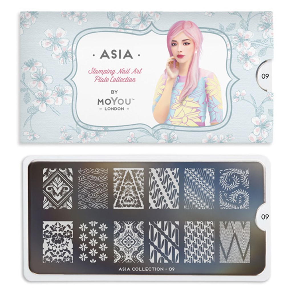 Stamping Plate Asia 09, MOYOU