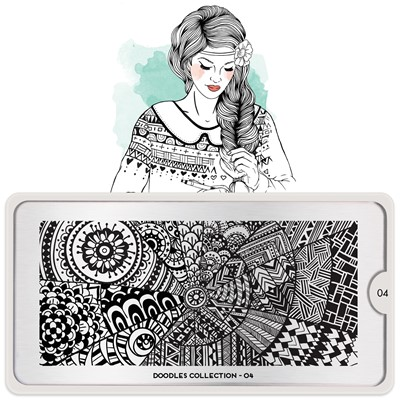 Stamping Plate Doodles 04, MOYOU*