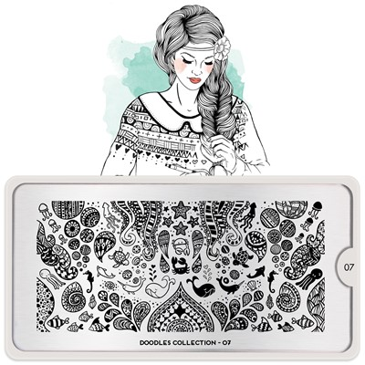 Stamping Plate Doodles 07, MOYOU*
