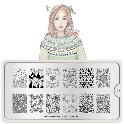 Stamping Plate Enchanted 16, MOYOU