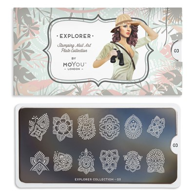 Stamping Plate Explorer 03, MOYOU*