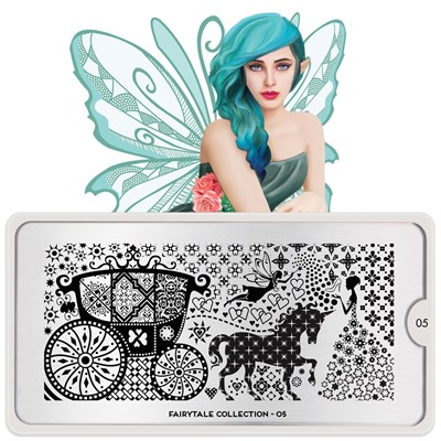 Stamping Plate Fairytale 05, MOYOU*