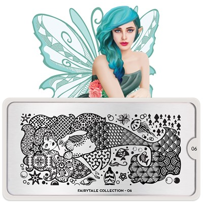 Stamping Plate Fairytale 06, MOYOU*