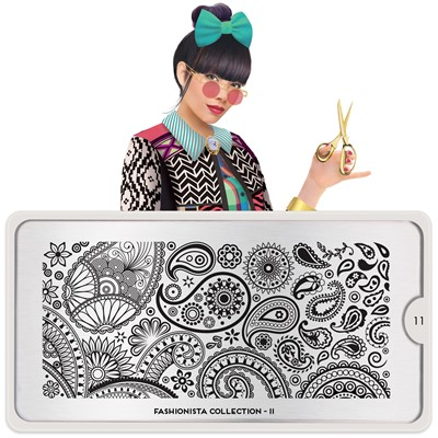 Stamping Plate Fashionista 11, MOYOU