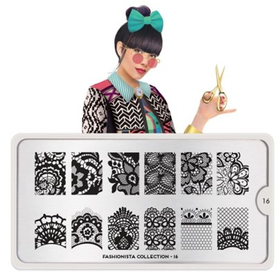Stamping Plate Fashionista 16, MOYOU*
