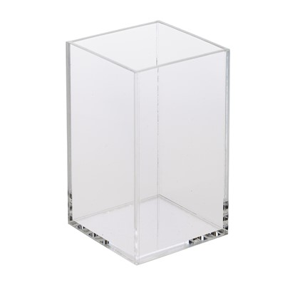 Cube, Clear acrylic cube / display