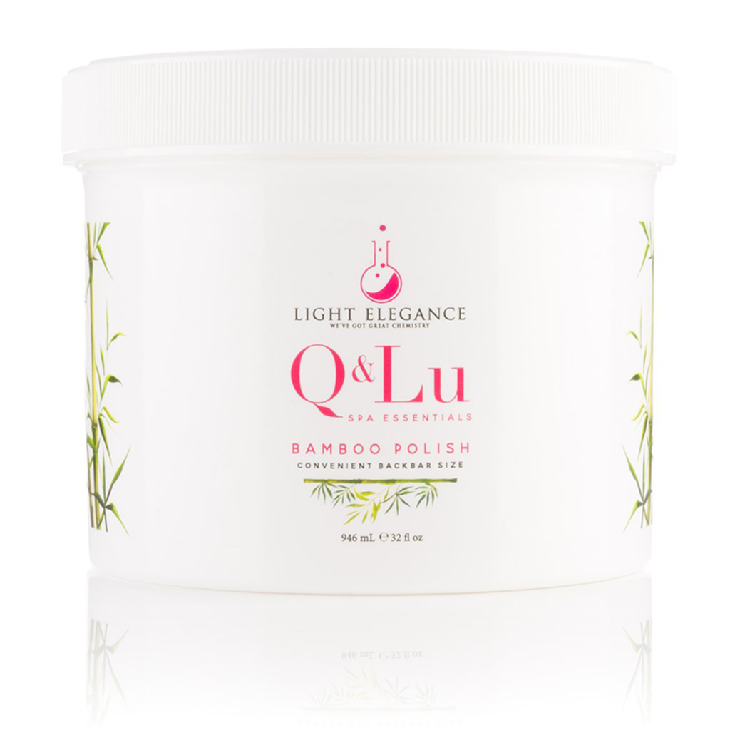 Q&LU Bamboo Polish Scrub Light Elegance